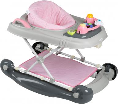 Babygo Babywalker 4 in 1 pink