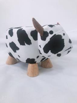 Tierhocker für Kinder Kuh