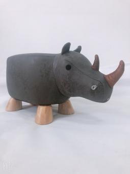 Tierhocker für Kinder Nashorn