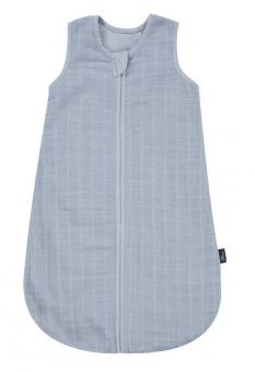 Alvi Mull-Schlafsack uni blau 110 cm