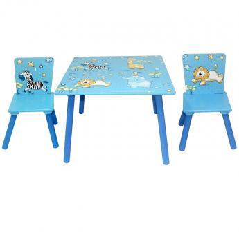 Bieco Sitzgruppe Tisch/Stuhl (2) Jungle