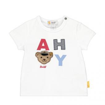 Steiff T-Shirt weiss Print 80