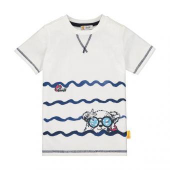 Steiff T-Shirt weiss Print 104