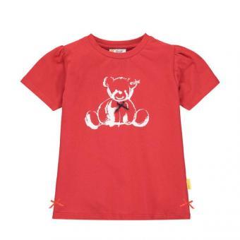 Steiff T-Shirt rot uni 104