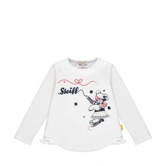 Steiff T-Shirt bright white lang Gr. 98