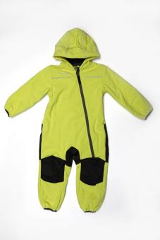 Nickel Outburst Softshell Overall 104 lime anthra