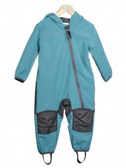 Nickel Sportswear Softshell Overall 74 türkis Outburst
