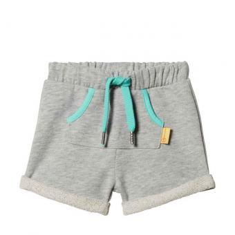 Steiff shorts gray meliert 86