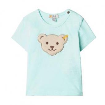 Steiff T-Shirt blue light 68