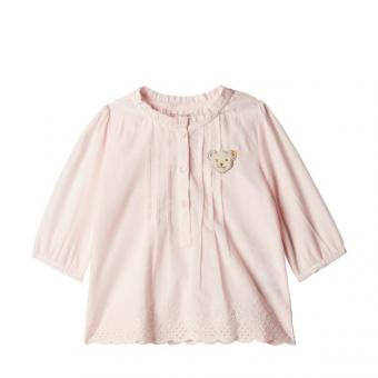 Steiff Bluse barely pink 74