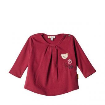 Steiff T-Shirt beet red 74