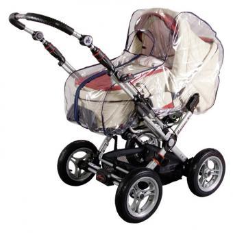 Sunnybaby Regenverdeck für Kinderwagen mit Reissverschluss