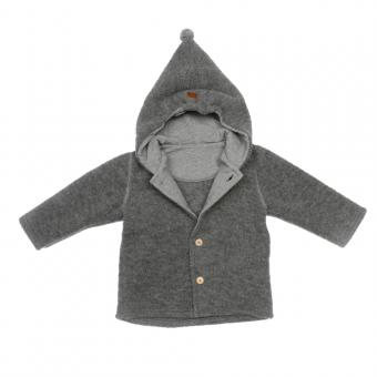 Maximo Jacke Wollfleece grey