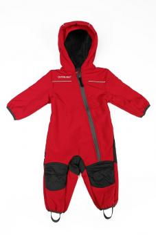 Nickel Outburst Softshell Overall rot anthra 98